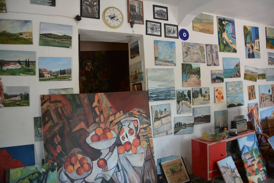 Cafe Olive Sanat Galerisi Akköy