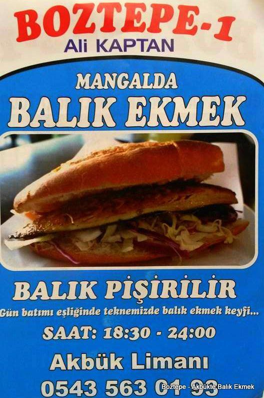 Akbük Limanı Balık ekmek Boztepe
