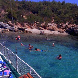 Akbük Tekne Turu Boztepe günlük gezi